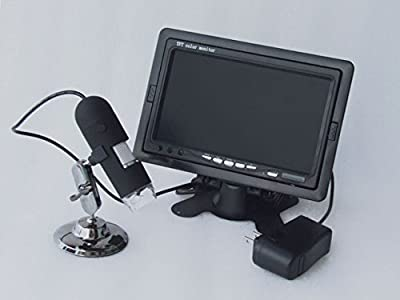 New Landing 7 Inch LCD Display 1200X AV Microscope