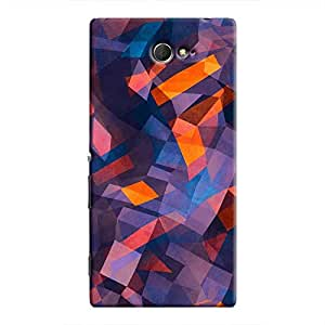 Cover It Up - Rectangle Mountain Xperia M2Hard Case
