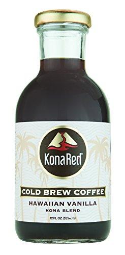 Konared Cold Brew Coffee  6 Pack   Hawaiian Vanilla