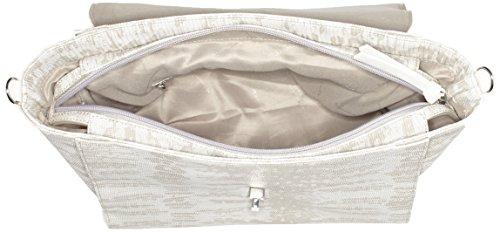 Tamaris Vera Handbag L - Bolso con correa de mano Mujer Beige (sand Comb)