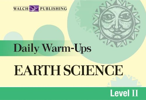 Daily Warm-ups For Earth Science (Daily Warm-Ups Science Series Ser)