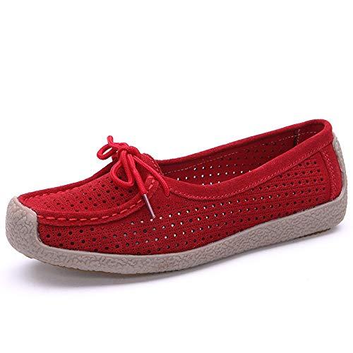 Taille 40 Eu Chaussures Rouge couleur Rouge Qiusa qnxqr8Xt