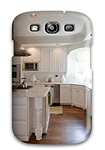 Top Quality Case Cover For Galaxy S3 Case With Nice Transitional Kitchen With Glass Oven Hood Appearance