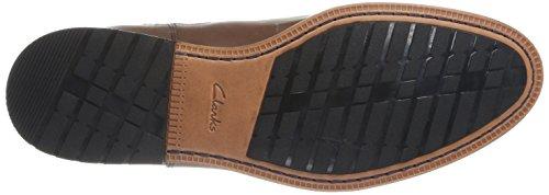 Clarks Gatley Top Herren Chelsea Boots Braun (Tan Leather)