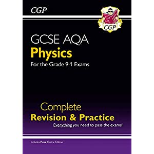 Grade 9-1 GCSE Physics AQA Complete Revision & Practice with Online Edition: perfect for home learning and 2021…
