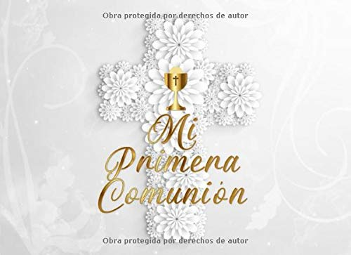 Firma de Primera Comunión Libro: Fiesta de la Primera Comunión Libro de Invitados por Acueducto Publicaciones