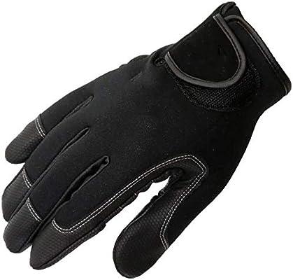 Mini guantes Guantes All-dedo hombres de pota guantes de la pesca ...