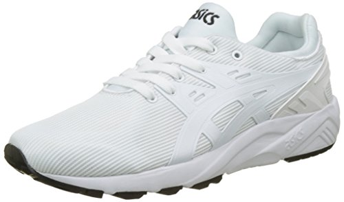 White Kayano Gel Blanco Asics Trainer Adulto Zapatillas White EVO Unisex 8155nqZHx