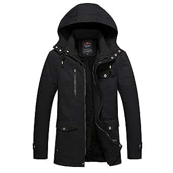 Amazon.com: Naomiky Warm/Men's Winter Jacket and Cashmere