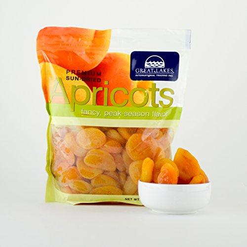 Sun-Dried Apricots - 32oz Bag - Apricots Apricot Dried