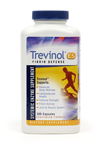 Trevinol ES by Landis Revin – Joint Health, Cartilage and Mobility Support - Systemic Enzyme Dietary Supplement - Vegetarian Formula (300 Count) by Trevinol (Image #1)