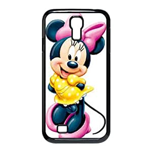 Disney Mickey Mouse Minnie Mouse Samsung Galaxy S4 90 Cell Phone Case Black TPU Phone Case SV_201575