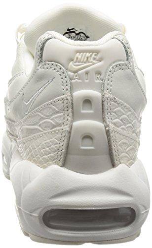 Nike Heren Air Max 95 Prm Hardloopschoen Top Wit / Top Wit