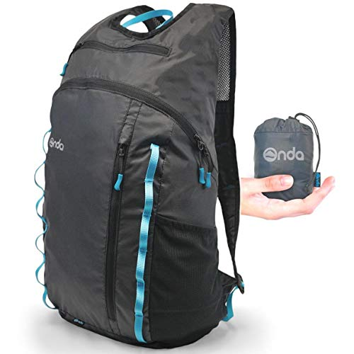 (Onda Atlas 20L Packable Day Pack Backpack   Ultralight Hiking Back Pack   Travel Personal Carry-on Item   Small Lightweight Compact Collapsible Daypack   for Women & Men)