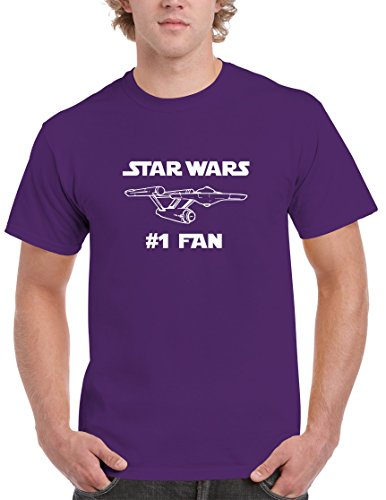 BBT Mens Funny Star Wars #1 Fan Star Trek T-shirt Tee M (Bbt Shirts)