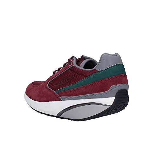 MBT Sneakers Mujer Gamuza Textil (37 EU, Borgoña)