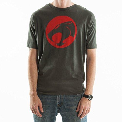 Men's Thundercats Logo Tee, Charcoal