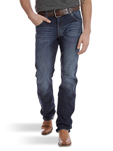Wrangler Men's Retro Premium Slim Fit Straight Leg Jean, Burke, 29X32 ()