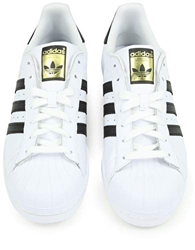 adidas Unisex-Erwachsene Superstar Low-Top, Weiß (Ftwr White/Core Black/Ftwr White), 38 EU 3
