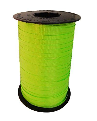 Lime Green Curling Ribbon - Jillson Roberts Bulk Spool 3/16