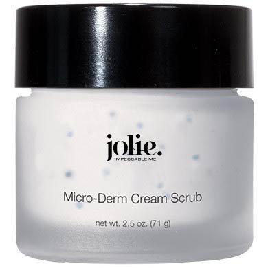 Jolie Micro Derm Cream Scrub - Microdermabrasion Crystals In A Hydrating Cream Base