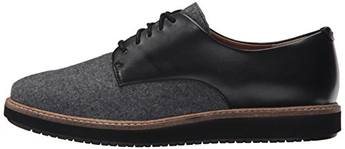 Clarks Women's Glick Darby Synthetic Oxford, Grey Combo, 8 M US