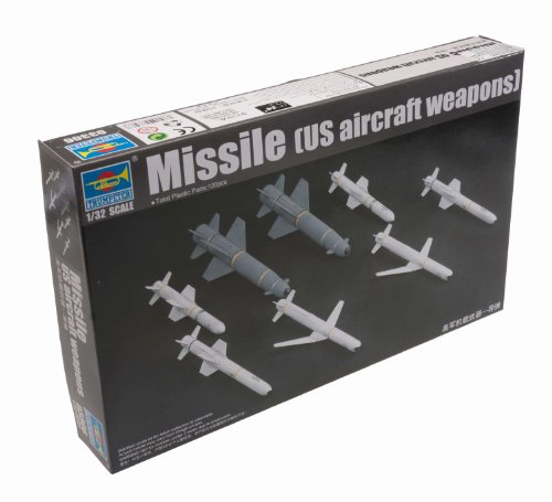 (Trumpeter 1/32 US Aircraft Weapons Set: Missiles Model Kit)