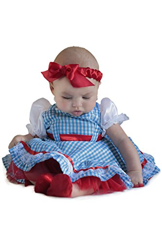 Princess Paradise Baby Girls' The Wizard of Oz Dorothy Newborn Costume Deluxe Costume, As Shown, 0/3M by Princess Paradise (Image #2)