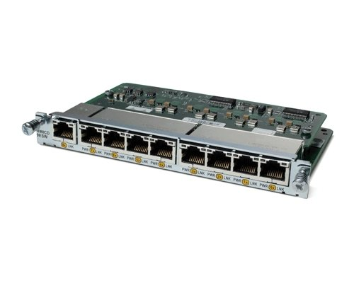 Cisco HWIC-D-9ESW 9 Port EtherSwitch Interface (Series Router Wan Interface Card)