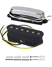 YAOHM Conjunto de cerámica de la camioneta de Guitarra eléctrica Pastilla Puente Tele Conjunto para FD Telecaster Estilo Partes de Guitarra