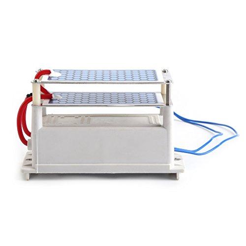 Portable Ozone Generator Air Purifier Sterilizer 10g/ H AC 110V Ozone Ceramic Plate