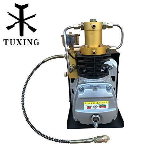 Cooling Compressor (4500 Psi Adjustable Auto Stop Pcp Air Compressor Water Cooling Scuba pump 110V 60HZ TUXING)