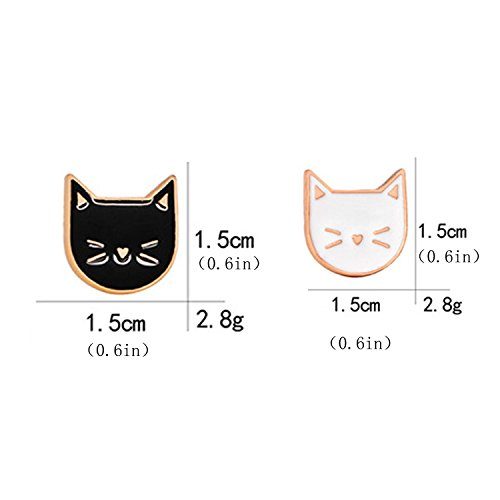 Buy cat enamel pin