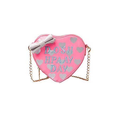 2019 Lmanda New Kids Children Grils Cute Bow Heart-Shape Handbag Shoulder Bag Mini Messenger Bag