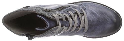 K3490 granit Bleu Rieker Rangers 14 Fille Boots jeans TSWdWOFwaq