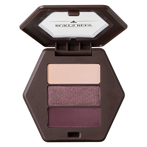 Burts Bees 100% Natural Eye Shadow Palette with 3 Shades, Countryside Lavender, 0.12 Ounce