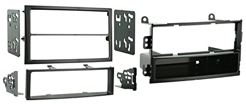 Metra 99-7402 Single DIN or Double DIN Installation Kit for 2003-2005 Nissan 350Z -Black ()