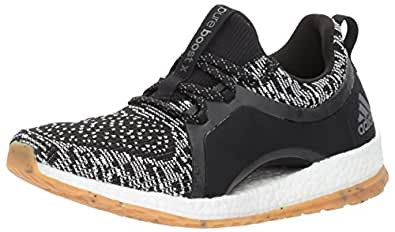 adidas Originals Women's Pureboost X ATR Running Shoe, Black/White/Black, 6.5 Medium US