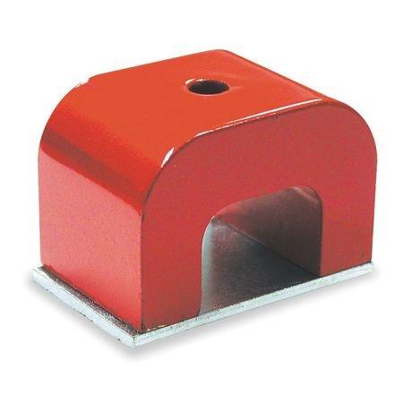 Industrial Grade 6Xy57 Horseshoe Magnet  Max Pull 22 Lb  Alnico 5