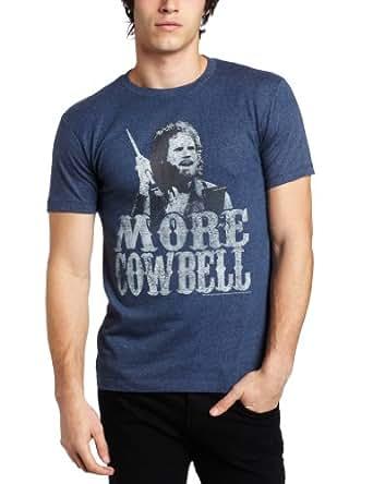 American Classics Men's Saturday Night Live More Cowbell T-Shirt, Blue, Medium