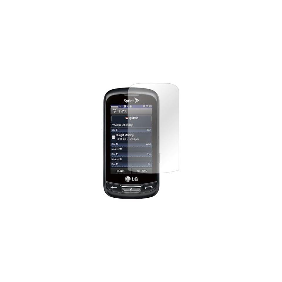 For LG Rumor Reflex Anti Glare LCD Screen Protector Guard Cover Kit Film