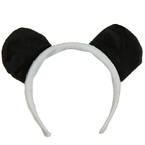 Novelty Giant Childrens Kids Panda Bear Ears Dress up Headband OSFM
