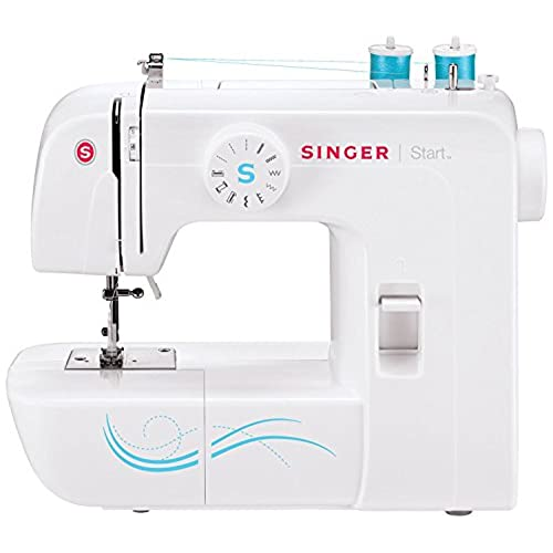 Singer Start 1304 Sewing Machine with 6 Built-In Stitches, Free Arm Sewing Machine - Best Sewing Machine for Beginners