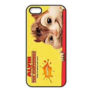 iPhone 5,5S Cell Phone Case Black Alvin and the Chipmunks NF9466285