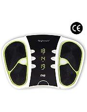 Estimulador Circulatorio Eléctrico - Mejora Circulación Piernas, Masajeador De Pies, Alivia El Dolor, Electroestimulador Muscular Piernas y Cuerpo, Control Remoto, 99 niveles intensidad, WeightWorld