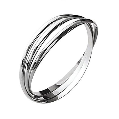 CN - Bracelet Rigide - Femme - Taille 66 - Argent 925/1000