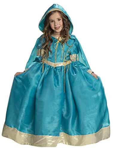 Rubie's Deluxe Princess Emma Costume, Teal, (Brave Costume For Toddler)