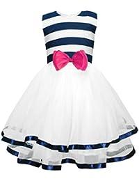 Little Girl Tutu Dress, Polka Dots Girls Summer Sundress Tulle Party Dresses 2-9 T