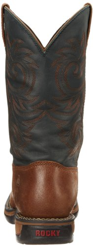 Navy Rocky Boot Range Men's Long Western FFHw78xRq