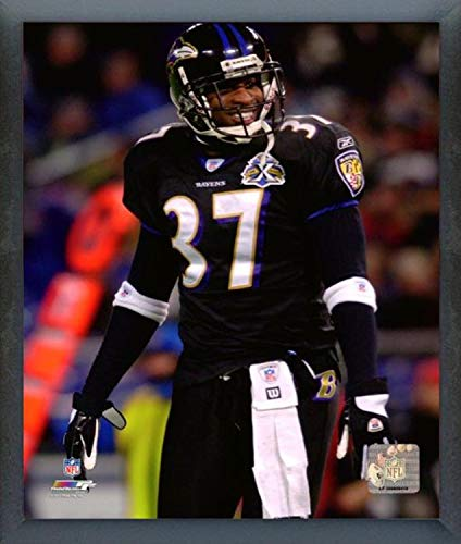 newest a9be9 f4fe2 Amazon.com: Deion Sanders Baltimore Ravens Action Photo ...